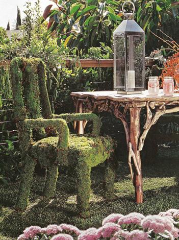 Moss Chair Garden Design Jan_Feb '09 Kyle Schuneman
