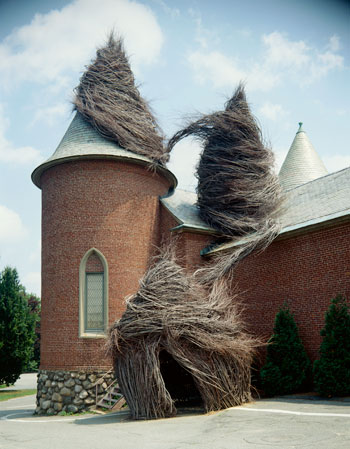 Patrick Dougherty by George Vasquez