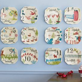 Rosana_12_days_of_christmas_plates